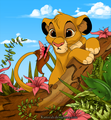 Cute Baby Simba - the-lion-king photo