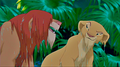 Simba and Nala are wet - the-lion-king photo