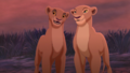 Kiara and Nala - the-lion-king photo