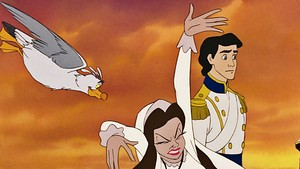Walt disney Screencaps - Scuttle, Vanessa & Prince Eric