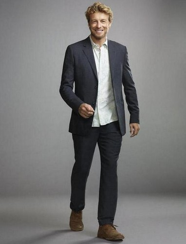 The Mentalist wallpaper with a business suit, a suit, and a well dressed person entitled New Season 6 Promo Pics