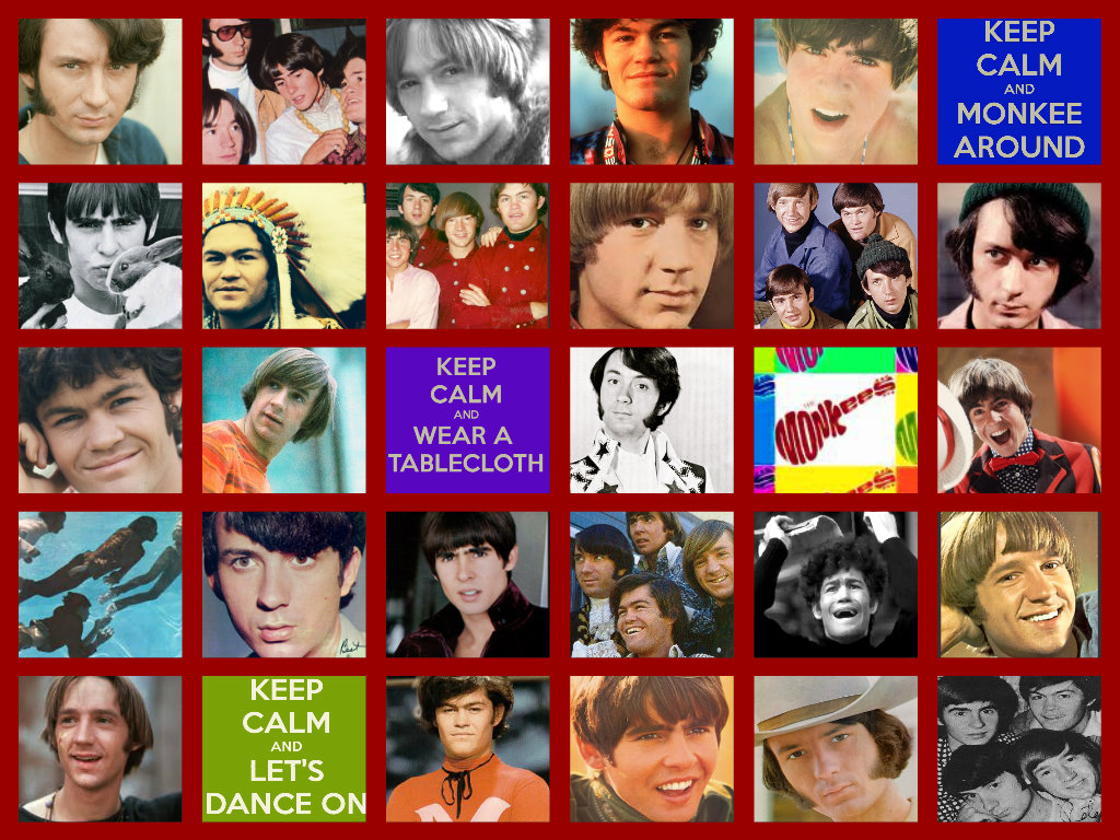 Monkee colage