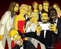 Super-Selfie 86th Academy Awards - the-simpsons photo