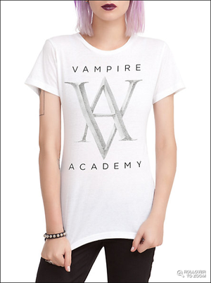 Vampire Academy Logo T-Shirt at Hot Topic!