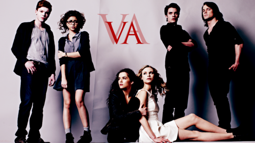 The Vampire Academy Blood Sisters wallpaper containing a well dressed person and a business suit titled Vampire Academy wallpaper