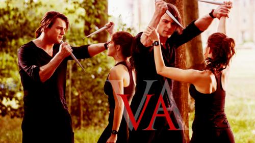 The Vampire Academy Blood Sisters দেওয়ালপত্র titled Vampire Academy দেওয়ালপত্র