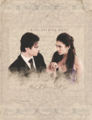 Delena     - the-vampire-diaries-tv-show fan art