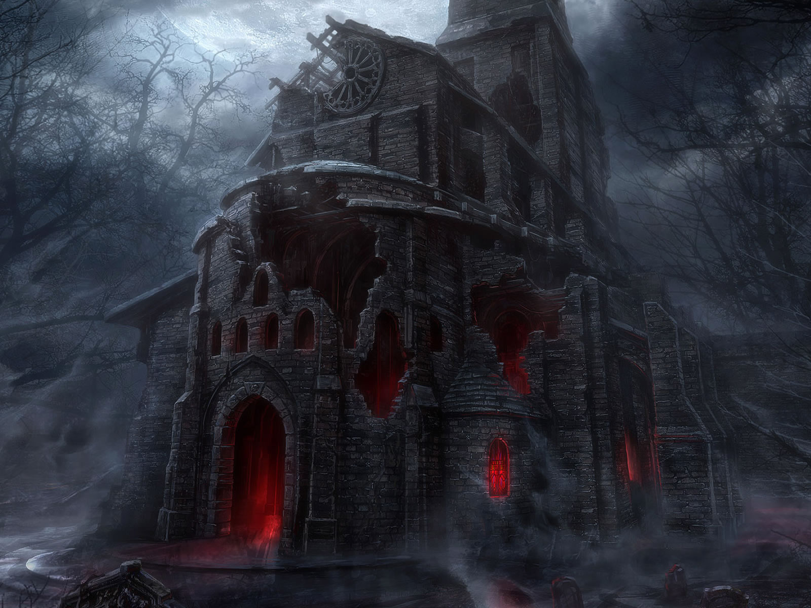 Scary House The Vampire Diaries Photo 36717982 Fanpop