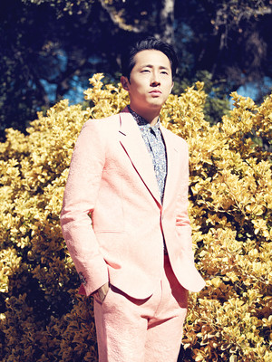 Steven Yeun for Los Angeles Magazine