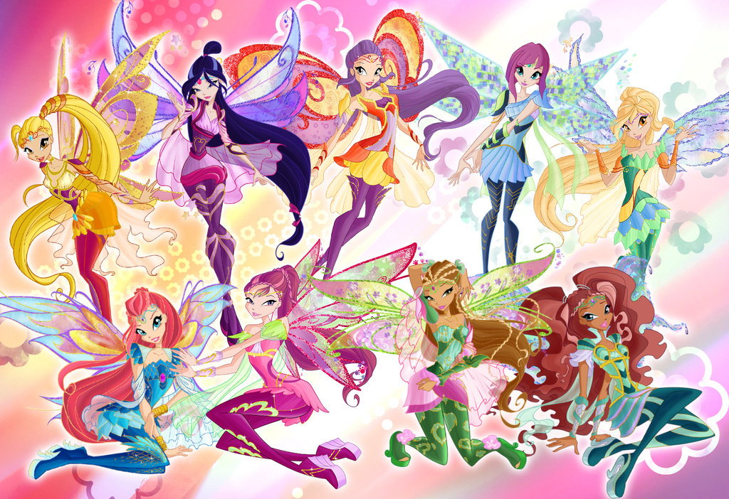 Winx club Bloomix with Tine
