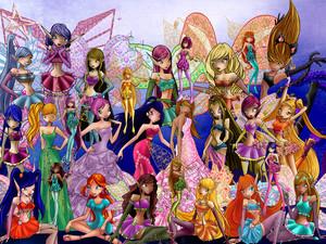cute winx fairy
