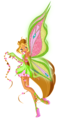 winx flora - the-winx-club fan art