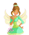 Flora ~ Magic Ballerina - the-winx-club fan art
