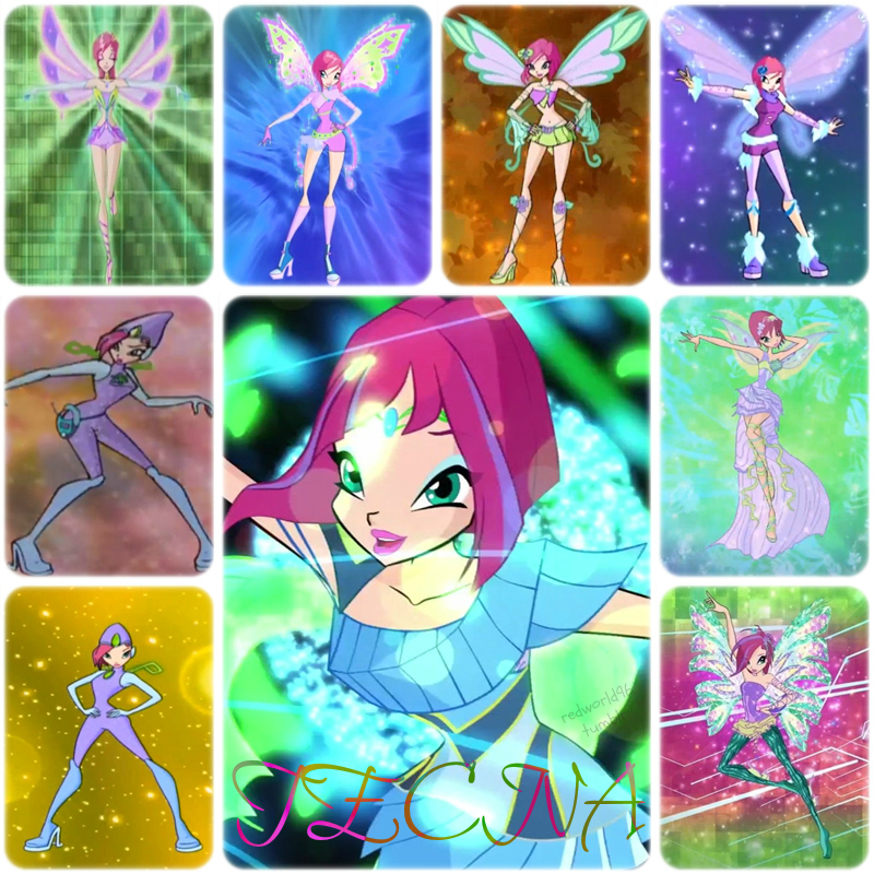 The Winx Club Images Tecna All Transformations HD Wallpaper And Background Photos