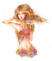 Flora (Winx Club) - the-winx-club fan art