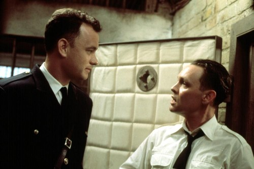 Tom Hanks wallpaper with a business suit called The Green Mile