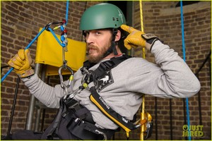 Abseiling training course with the Royal Marines