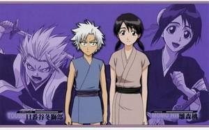 Toushiro Hitsugaya and Momo Hinamori