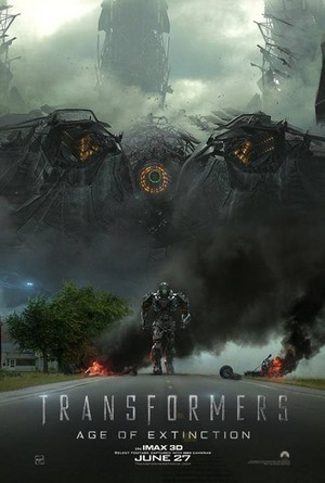 Transformers: Age of Extinction IMAX 3D Poster