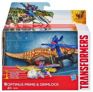 Transformers 4 Dino Sparkers Optimus Prime and Grimlock