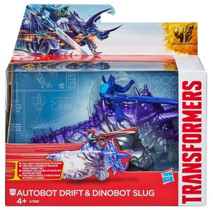 transformers 4 Dino Sparkers Drift and Slug