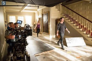 The Vampire Diaries - Episode 5.14 - No Exit - Official BTS foto's