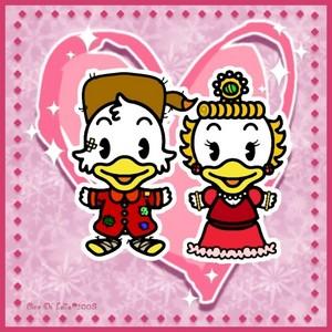디즈니 Cutie Young Scrooge and Goldie