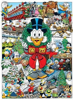 Don Rosa Christmas Drawing