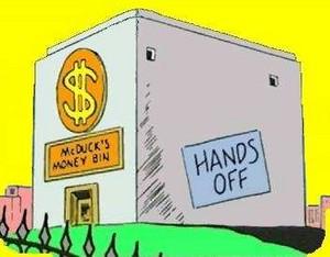 Scrooge's Money Bin 1