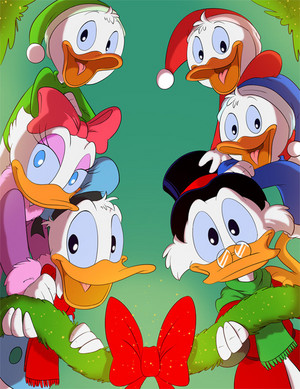Scrooge and Family ♥