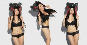 Vampy Bit Me aka Linda Le in FHM cutouts