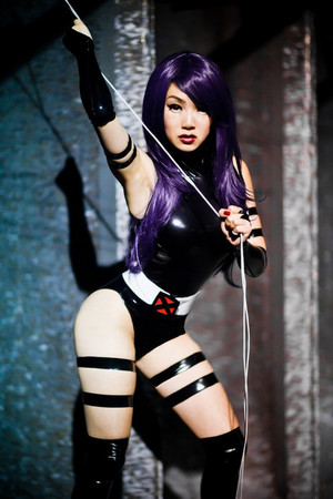 VampyBitMe Psylocke with rope