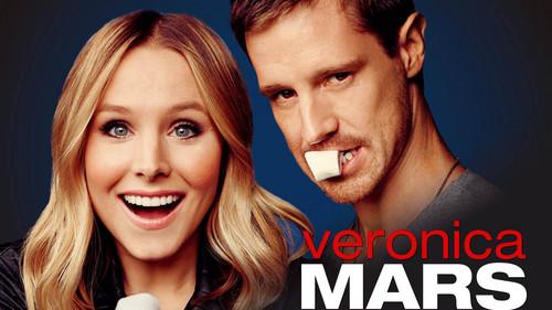 Veronica Mars achtergrond containing a portrait titled Kristen klok, bell and Jason Dohring