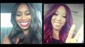 Diva Selfies - Naomi and Alicia Fox - wwe-divas photo