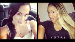 Diva Selfies - Brie Bella and Cameron
