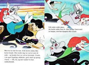 Walt 디즈니 Book 이미지 - Princess Ariel, Ursula & Prince Eric