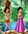 Walt Disney Fan Art - Mowgli & Shanti - walt-disney-characters fan art