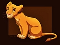Walt Disney Fan Art - Simba - walt-disney-characters fan art
