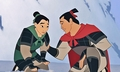 Walt Disney Screencaps - Fa Mulan & Captain Li Shang - walt-disney-characters photo