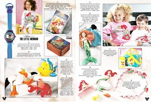 The Disney Catalog - Fall 1990: The Little Mermaid Merchandise