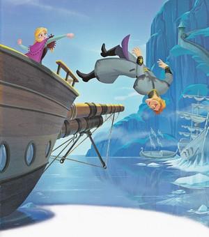 Walt disney Book imagens - Princess Anna & Prince Hans Westerguard