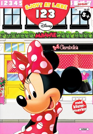 Walt Disney Book Covers - Minnie muis Activity Book 123