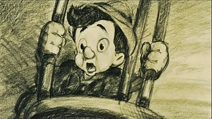 Walt 迪士尼 Sketches - Pinocchio