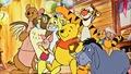 Walt ディズニー Screencaps - Kanga, Owl, Rabbit, Piglet, Winnie the Pooh, Tigger, Roo & Eeyore