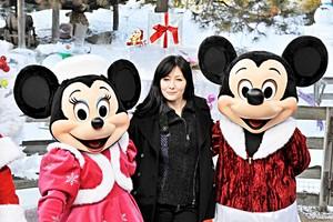 Walt disney fotografias - Minnie Mouse, Shannen Doherty & Mickey rato