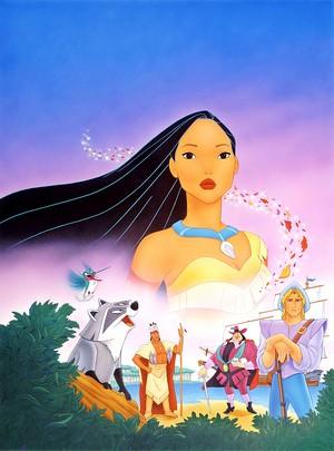 Walt ডিজনি Posters - Pocahontas