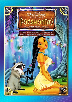 Walt ディズニー DVD Covers - Pocahontas