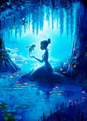 Walt ディズニー Posters - The Princess and the Frog
