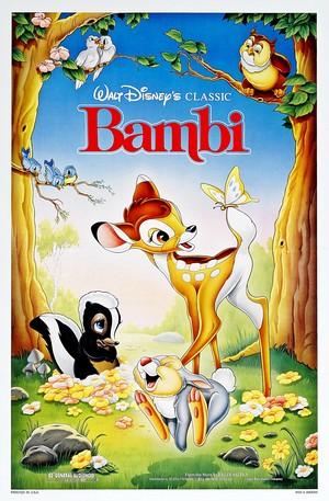 Walt डिज़्नी Posters - Bambi