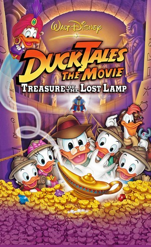 Walt 迪士尼 Posters - DuckTales the Movie: Treasure of the 迷失 Lamp